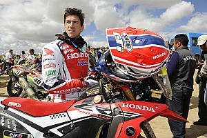 Dakar Stage report Barreda finishes second at the salt flat day in Bolivia