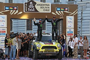 Dakar Race report MINI ALL4 Racing: DAKAR final results