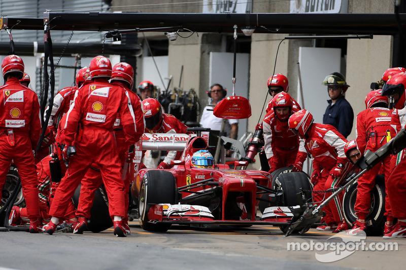 Ferrari had fastest pitstops in 2013 - report