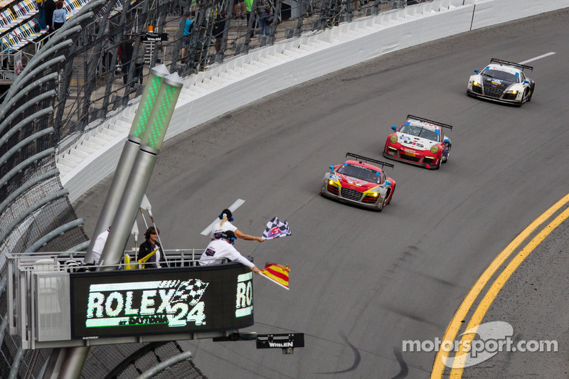 Spencer Pumpelly finished second in the GTD category at Daytona
