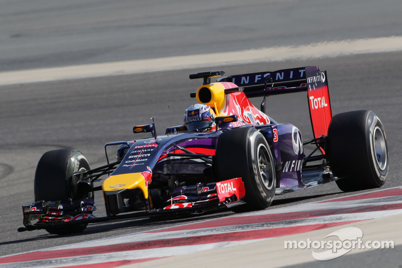 Red Bull concludes a difficult week of tests at Bahrain