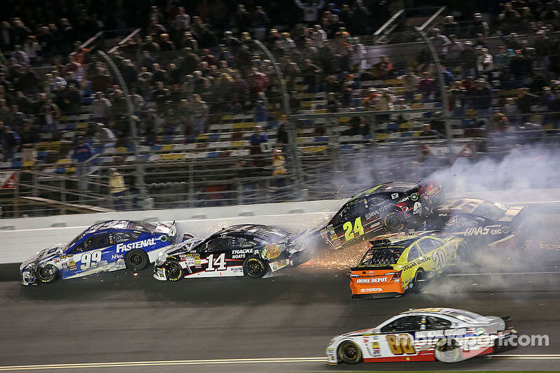 'The Big One' doesn't wait for the Daytona 500
