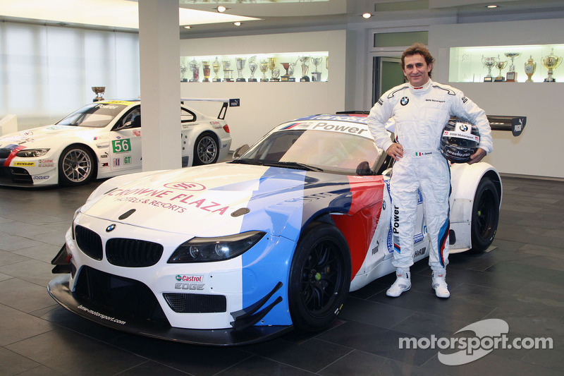 Successful test for Alessandro Zanardi with the BMW Z4 GT3 at Vallelunga