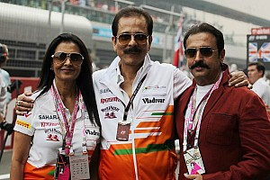 Formula 1 Breaking news Police to arrest Force India sponsor Sahara chief