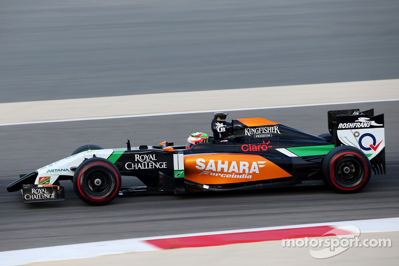 Perez continues to lead in Bahrain