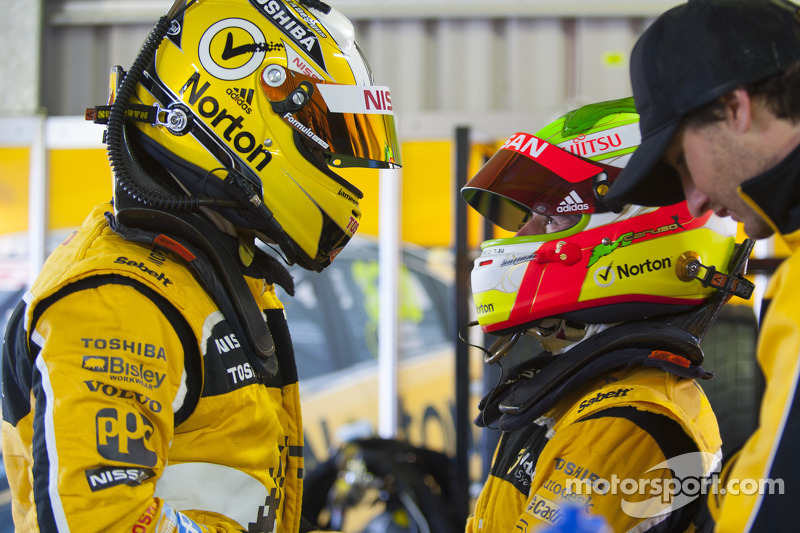 Nissans fire at Formula One Rolex Australian Grand Prix