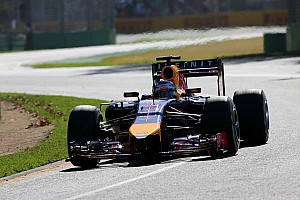 Formula 1 Practice report Infiniti Red Bull Racing drivers after Friday at Albert Park