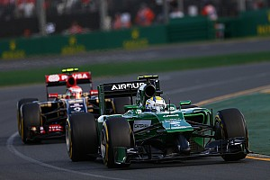 Formula 1 Race report Caterham F1 team failed to finish at Melbourne