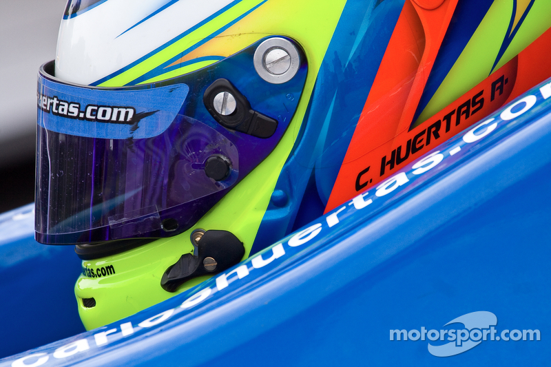 Huertas among four rookies in opening race at St. Pete