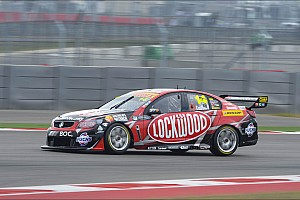 Supercars Practice report Setup the key for Coulthard