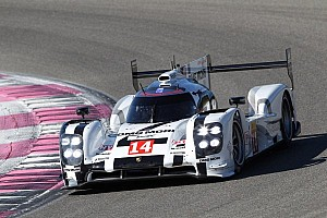 WEC Breaking news 3,556 kilometres for the Porsche 919 Hybrid at the Prologue in Paul Ricard