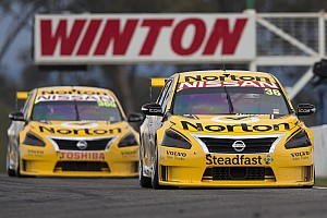 Supercars Race report All eyes on Winton for Nissan Motorsport after tough day in Tasmania
