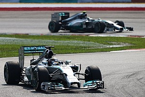 Formula 1 Breaking news Hamilton claims he 'blew Rosberg away'