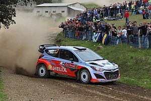 WRC Breaking news Hyundai World Rally Team modifies its driver line-up for Rally Argentina