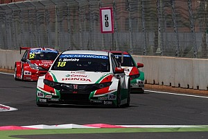 WTCC Qualifying report Tiago Monteiro qualifies 7th and 4th on the grid for Morocco races