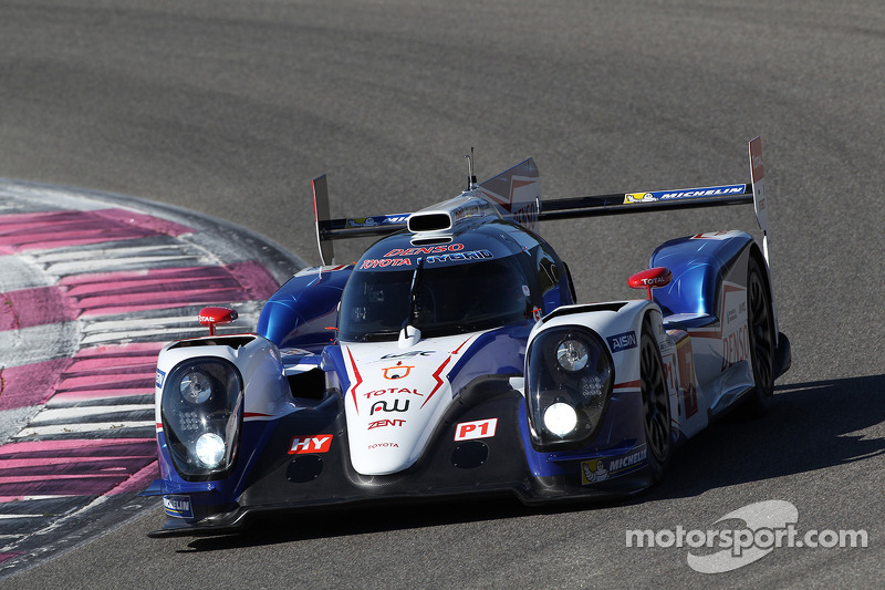 Silverstone debut for TOYOTA TS040 HYBRID