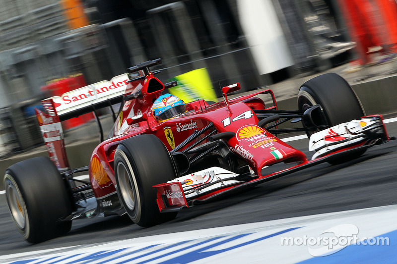 Great performance by Alonso in Friday's practice session at Shanghai