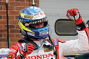 BTCC Race report Honda Racing claims magnificent victory at Donington Park