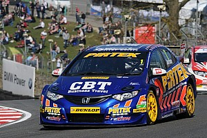 BTCC Qualifying report Andrew Jordan speeds to Thruxton pole position