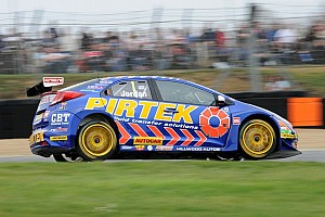 BTCC Race report Andrew Jordan claims first Thruxton victory in Race 1