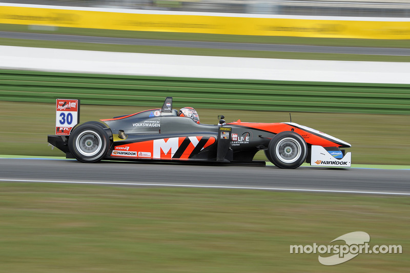 Max Verstappen celebrates maiden victory in FIA Formula 3 European Championship
