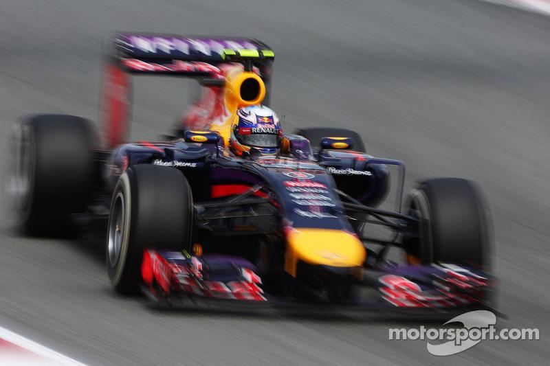 Red Bull's Ricciardo securing third on the grid for tomorrow's Spanish GP