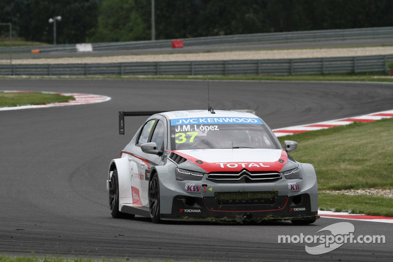 Citroën on the Slovakia Ring: Pechito López, as evidence!