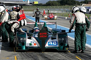 European Le Mans Race report Gearbox failure costs Karun Chandhok and Murphy Prototypes yet another podium finish