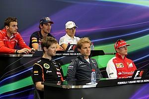 Formula 1 Press conference 2014 Monaco Grand Prix Wednesday press conference