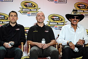 NASCAR Cup Breaking news Marcos Ambrose plans to stay with Petty