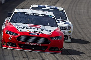 NASCAR Cup Qualifying report In their own words: Keselowski, fellow Ford drivers talk Charlotte qualifying