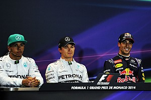 Formula 1 Press conference 2014 Monaco Grand Prix qualifying press conference