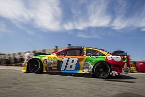 NASCAR Cup Breaking news Kyle Busch takes a hit
