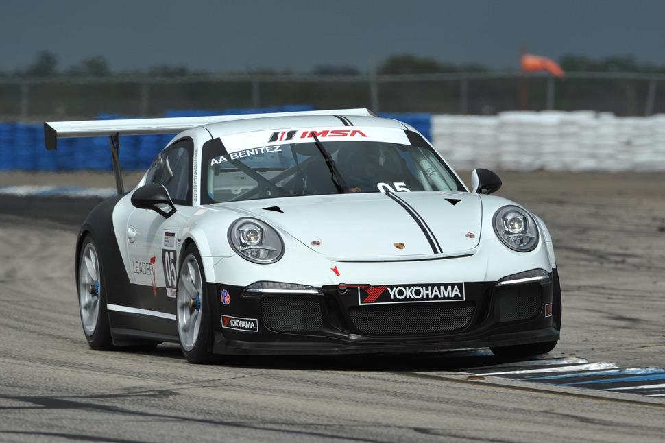 Benitez outruns Nielsen for Porsche GT3 Cup win at Lime Rock