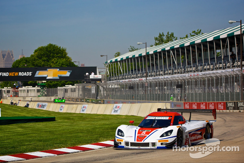 Action Express Racing takes third on Chevrolet Sports Car Classic grid in Detroit