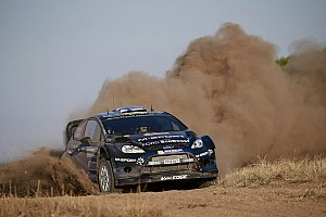 WRC Breaking news Hirvonen's rally goes up in flames