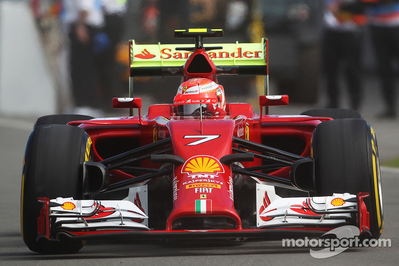 Ferrari: Raikkonen fourth fastest, Alonso fifth on free practice day at Montreal
