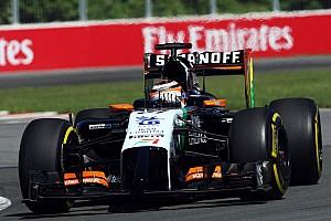 Formula 1 Qualifying report Hulkenberg and Perez qualify in P11 and P13 respectively for tomorrow's Canadian GP
