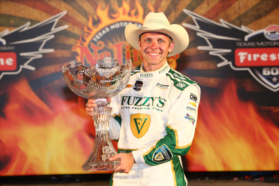 Win at Texas satisfying Carpenter as owner and driver