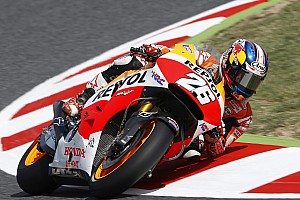 MotoGP Qualifying report Pedrosa delights fans and seals first pole of the year in Catalunya
