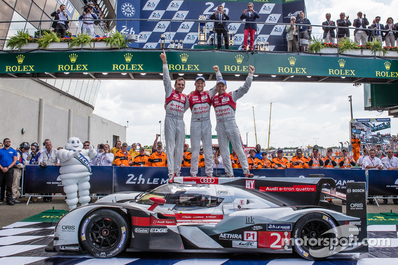 Audi Goes 1 2 In The 82nd Running Of The 24 Hours Of Le Mans