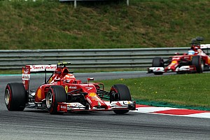 Formula 1 Practice report Ferrari: Mother Nature is the star in Spielberg