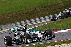Formula 1 Qualifying report Rosberg qualifies third and Hamilton ninth for tomorrow's Austrian GP