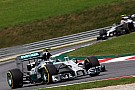 Rosberg qualifies third and Hamilton ninth for tomorrow's Austrian GP