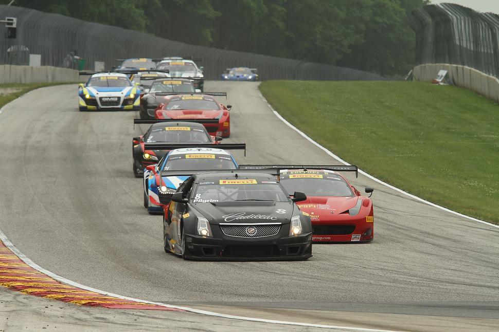 Cadillac Racing second and third at Road America