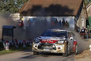 WRC Race report A great fightback by Kris Meeke in Poland