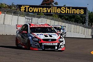Supercars Race report Tander secures first victory of 2014 in HRT 1-2 finish