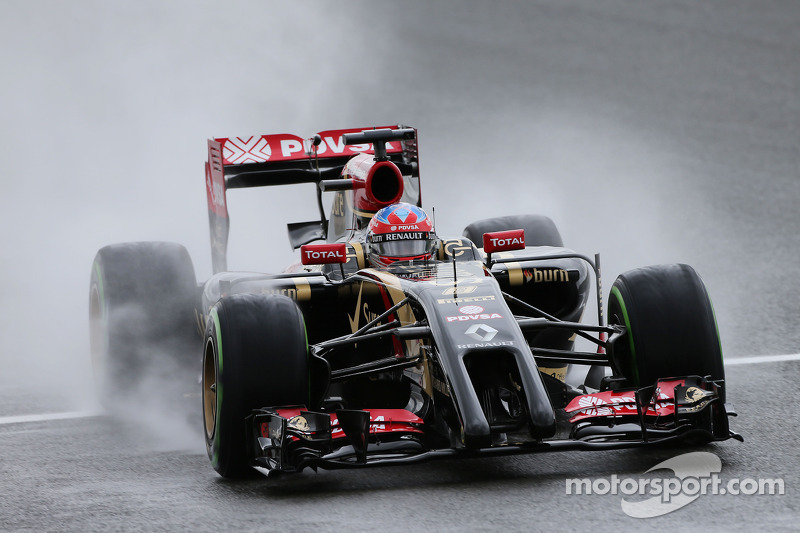 British GP: Yellow flags interrupted Grosjean final qualifying runs in Q2