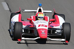 IndyCar Preview Justin Wilson ready  for Iowa oval