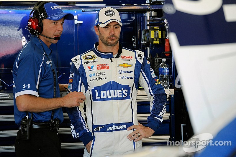 Johnson out of contention early at Loudon